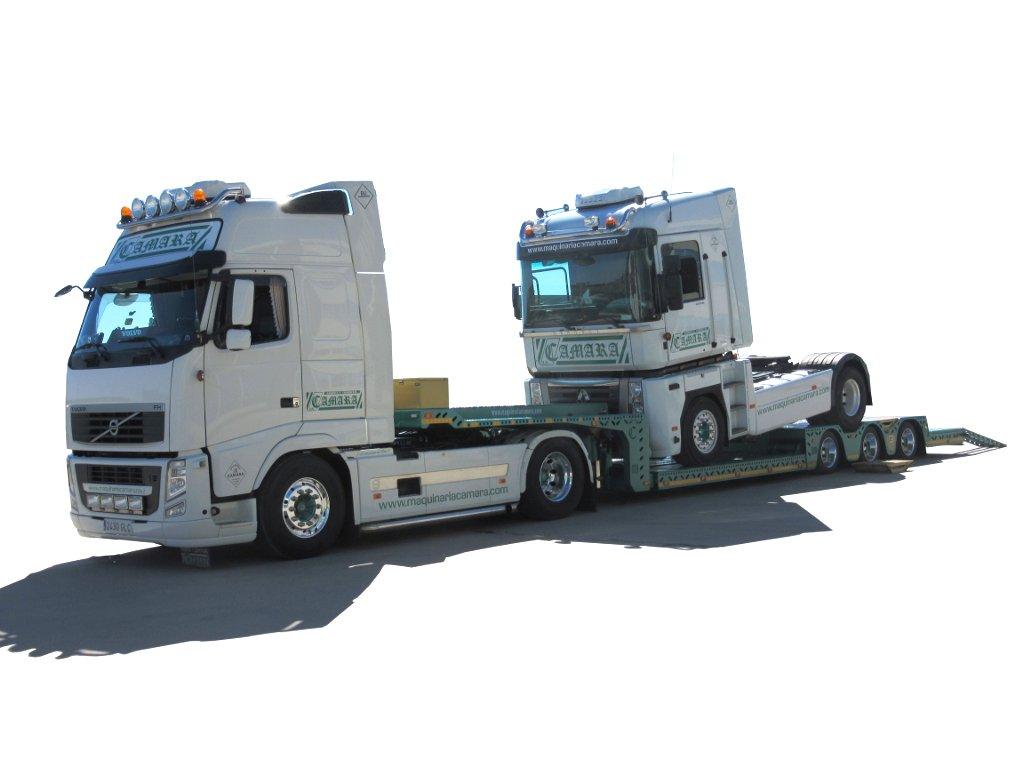 Góndola porta vehículos Maquinaria Camara