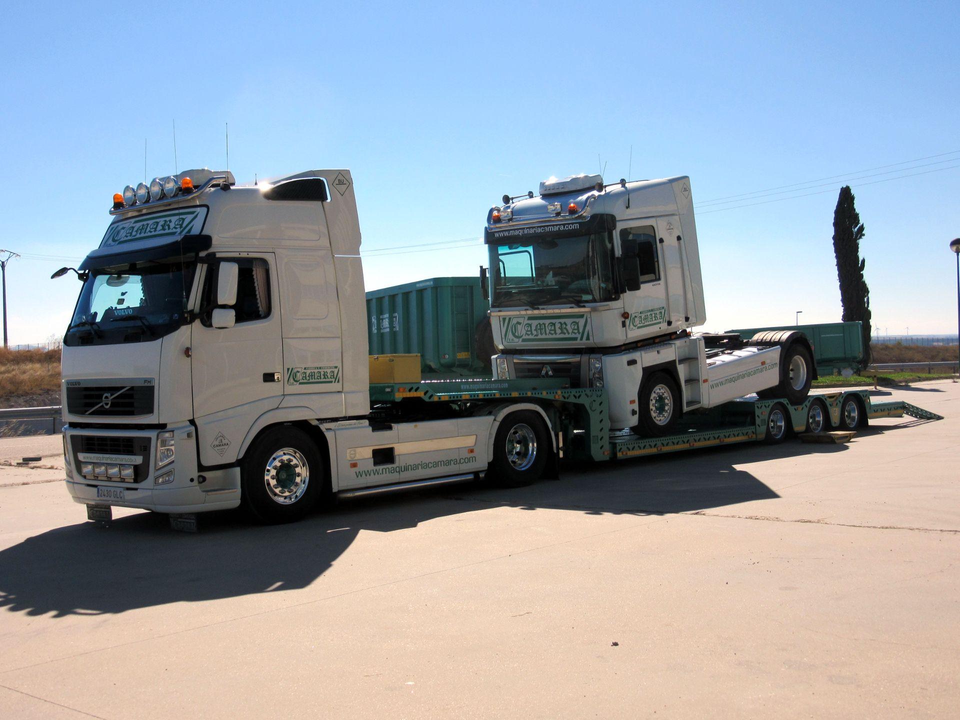 Góndola porta vehículos Maquinaria Camara 2