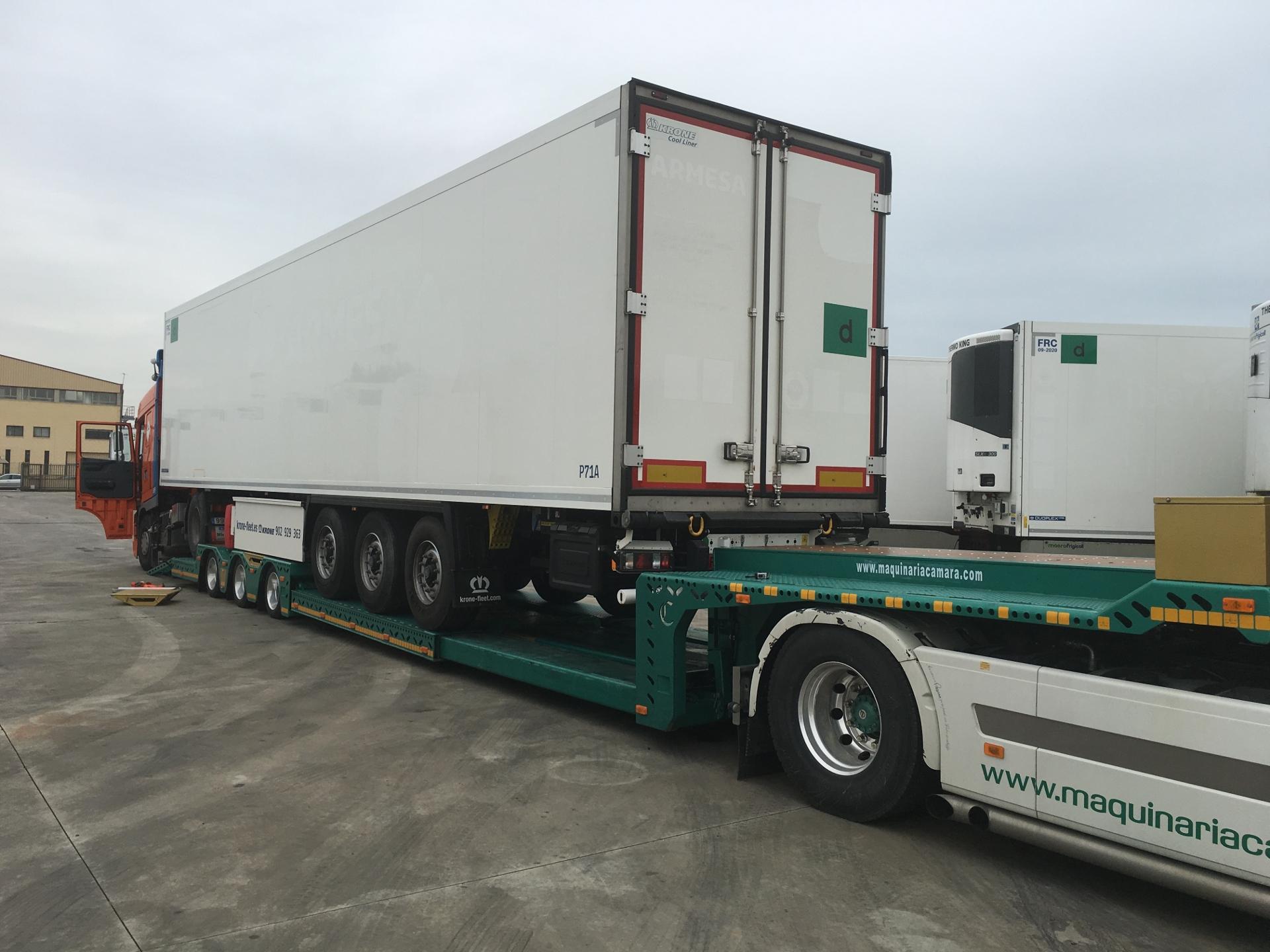 Góndola porta vehículos Maquinaria Camara 5