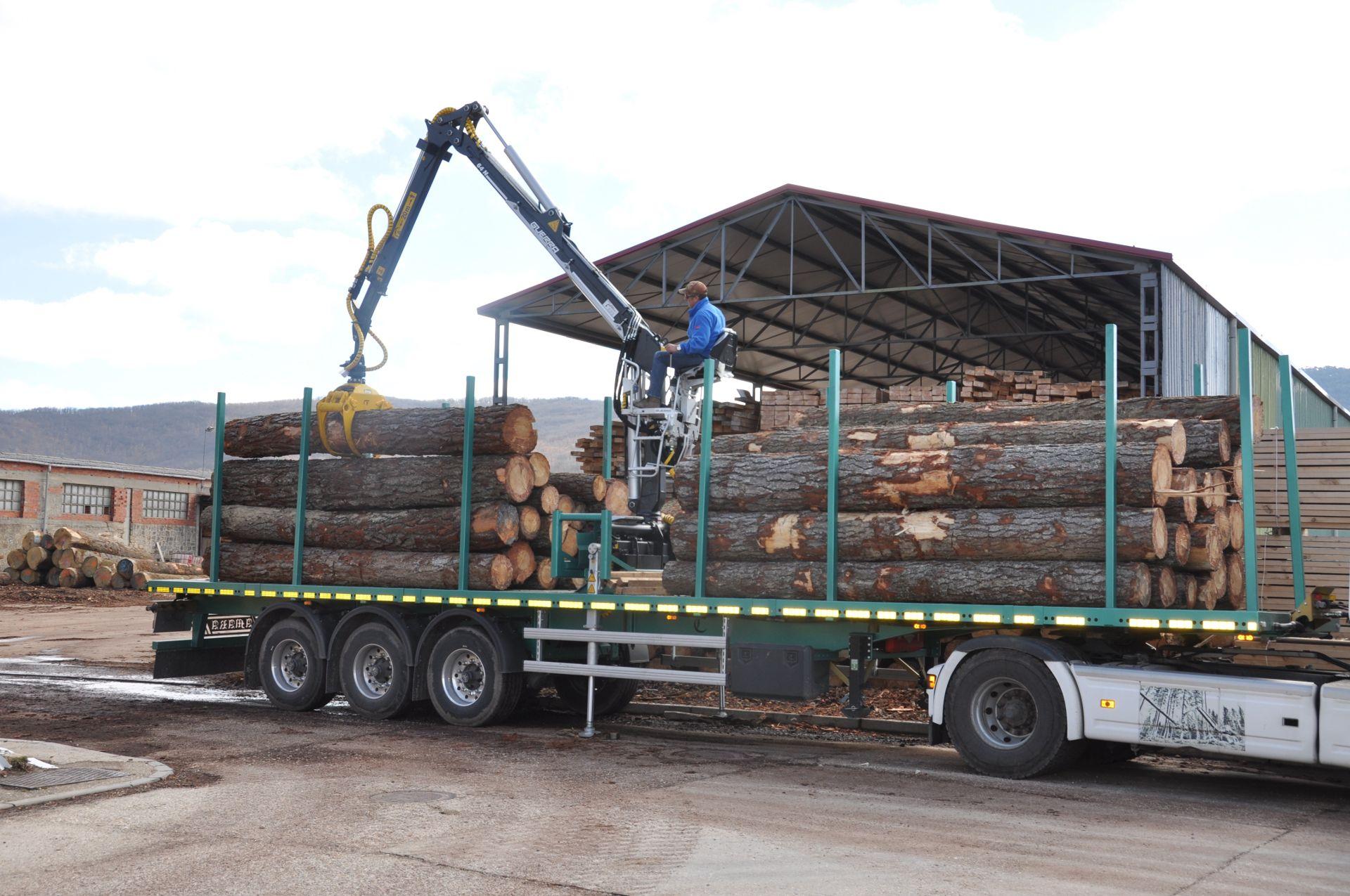 Plataforma forestal Maquinaria Camara 2