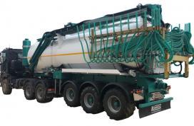 Cisterna sobre camión Camara