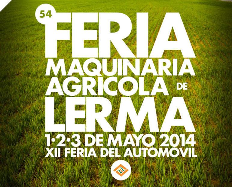 Cartel feria Lerma 2014
